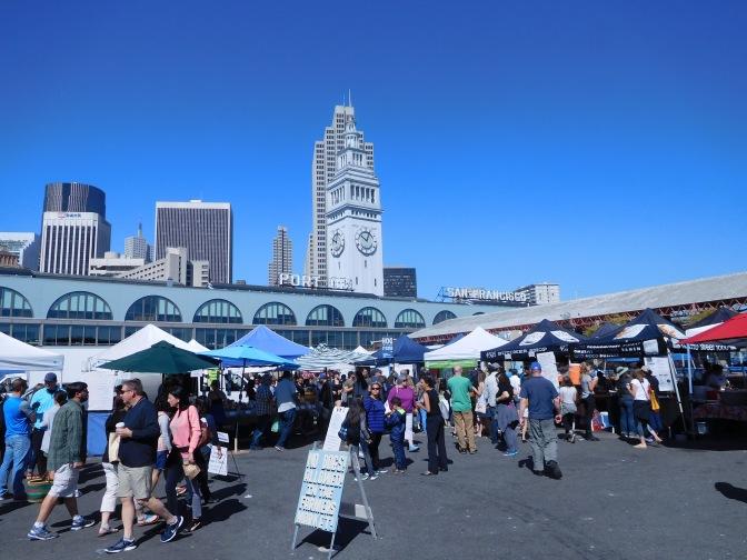 Le marché des fermiers du Ferry building