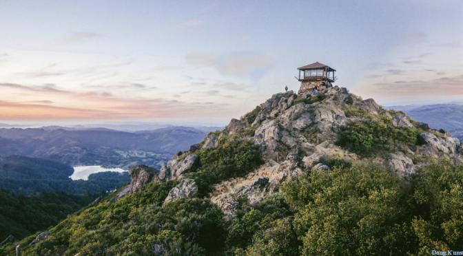 Ascension du Mont Tamalpais
